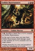 Conflux Foil: Goblin Razerunners