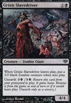Conflux: Grixis Slavedriver