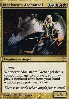 Conflux Foil: Maelstrom Archangel