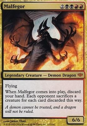 Conflux Foil: Malfegor