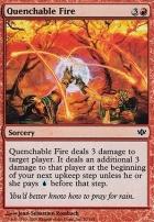 Conflux Foil: Quenchable Fire