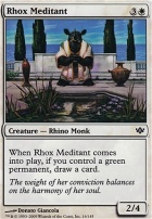 Conflux Foil: Rhox Meditant