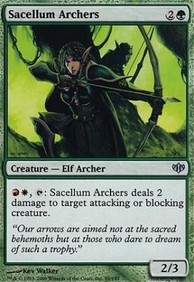 Conflux Foil: Sacellum Archers