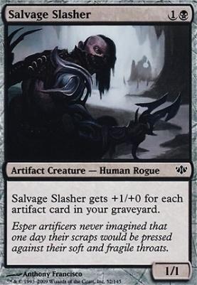 Conflux Foil: Salvage Slasher