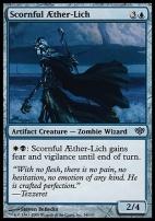 Conflux Foil: Scornful Aether-Lich