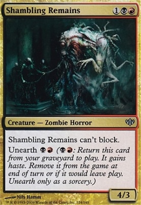 Foil Shadowmoor MTG Grief Tyrant NM