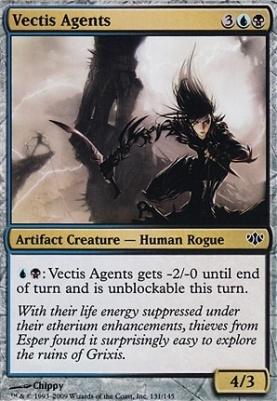 Conflux Foil: Vectis Agents