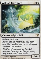 Conflux: Wall of Reverence