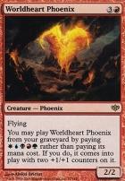 Conflux Foil: Worldheart Phoenix