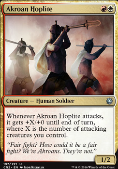 Conspiracy - Take the Crown Foil: Akroan Hoplite