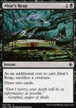 Conspiracy - Take the Crown Foil: Altar's Reap