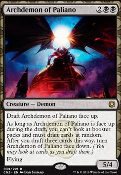 Conspiracy - Take the Crown: Archdemon of Paliano