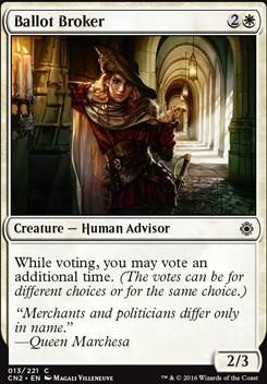 Conspiracy - Take the Crown Foil: Ballot Broker
