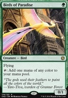 Conspiracy - Take the Crown Foil: Birds of Paradise