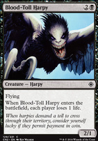 Conspiracy - Take the Crown Foil: Blood-Toll Harpy