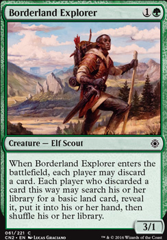 Conspiracy - Take the Crown Foil: Borderland Explorer