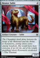 Conspiracy - Take the Crown Foil: Bronze Sable