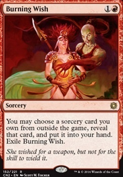 Conspiracy - Take the Crown Foil: Burning Wish