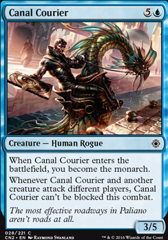 Conspiracy - Take the Crown Foil: Canal Courier