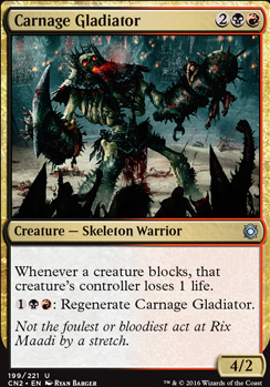Conspiracy - Take the Crown Foil: Carnage Gladiator