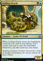 Conspiracy - Take the Crown Foil: Coiling Oracle