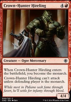 Conspiracy - Take the Crown Foil: Crown-Hunter Hireling