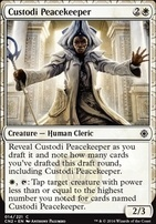 Conspiracy - Take the Crown Foil: Custodi Peacekeeper