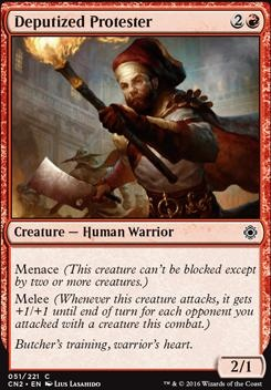 Conspiracy - Take the Crown Foil: Deputized Protester