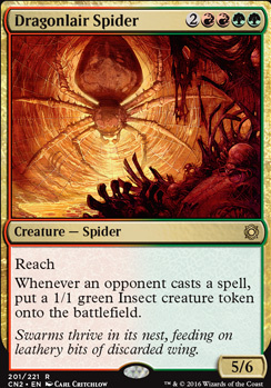 Conspiracy - Take the Crown Foil: Dragonlair Spider