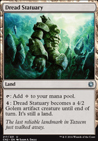 Conspiracy - Take the Crown Foil: Dread Statuary