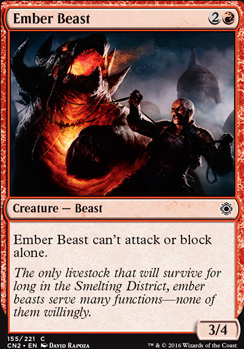 Conspiracy - Take the Crown Foil: Ember Beast