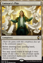 Conspiracy - Take the Crown Foil: Emissary's Ploy