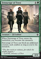 Conspiracy - Take the Crown Foil: Entourage of Trest