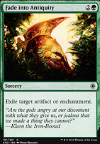 Conspiracy - Take the Crown Foil: Fade into Antiquity