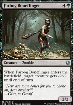 Conspiracy - Take the Crown Foil: Farbog Boneflinger