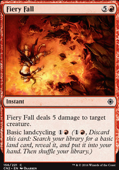 Conspiracy - Take the Crown Foil: Fiery Fall