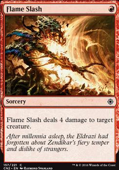 Conspiracy - Take the Crown Foil: Flame Slash