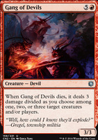 Conspiracy - Take the Crown Foil: Gang of Devils