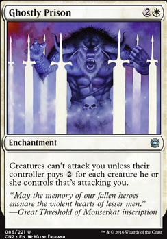 Conspiracy - Take the Crown Foil: Ghostly Prison