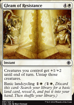 Conspiracy - Take the Crown Foil: Gleam of Resistance
