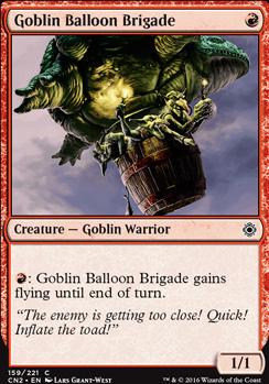 Conspiracy - Take the Crown Foil: Goblin Balloon Brigade