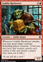 Conspiracy - Take the Crown Foil: Goblin Racketeer