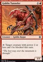 Conspiracy - Take the Crown Foil: Goblin Tunneler