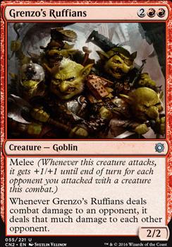 Conspiracy - Take the Crown Foil: Grenzo's Ruffians
