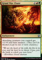 Conspiracy - Take the Crown Foil: Gruul War Chant