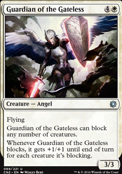 Conspiracy - Take the Crown Foil: Guardian of the Gateless
