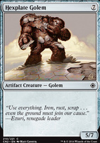 Conspiracy - Take the Crown Foil: Hexplate Golem