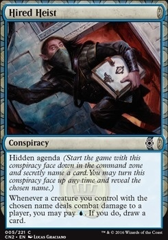 Conspiracy - Take the Crown Foil: Hired Heist