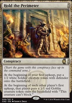 Conspiracy - Take the Crown Foil: Hold the Perimeter