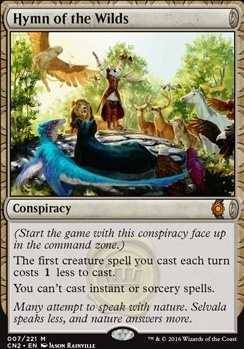 Conspiracy - Take the Crown Foil: Hymn of the Wilds